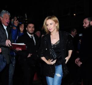 Kylie Minogue : Look boyfriend chic... à adopter !