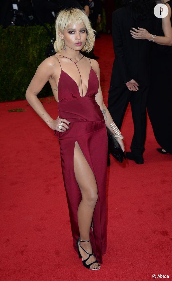 Zoë Kravitz et sa robe Topshop lors du Gala du Met, le 5 mai 2014.