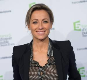 Anne-Sophie Lapix : un petit chemisier transparent pour les 20 ans de France 5