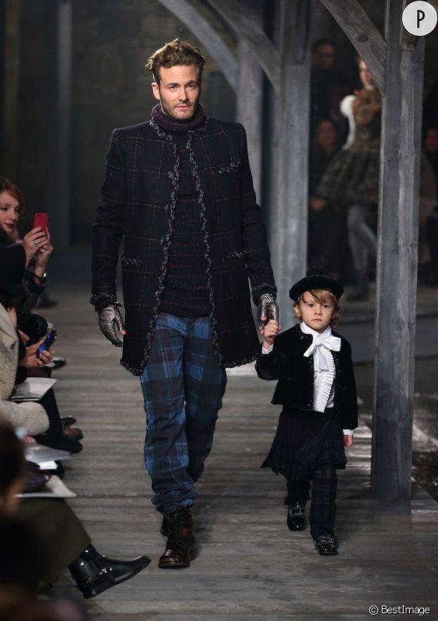 Hudson Kroenig, la baby star des défilés Chanel.