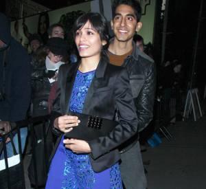 Le couple se fait de plus en plus rare dans les médias, si ce n'est des photos prises au vol. Mais Freida Pinto et Dev Patel semblent toujours complices et amoureux, comme ici lors de la soirée pré-Golden Globes au Château Marmont, à Los Angeles.