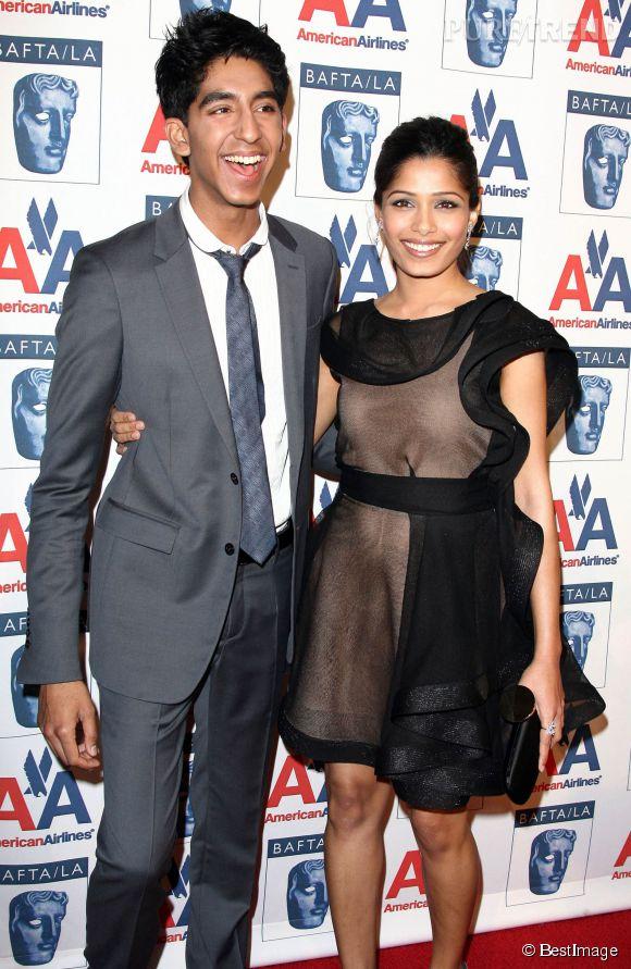 En janvier 2009, les tourteraux s'affichent en couple. Leur première apparition en amoureux remonte à la soirée pré-BAFTA.