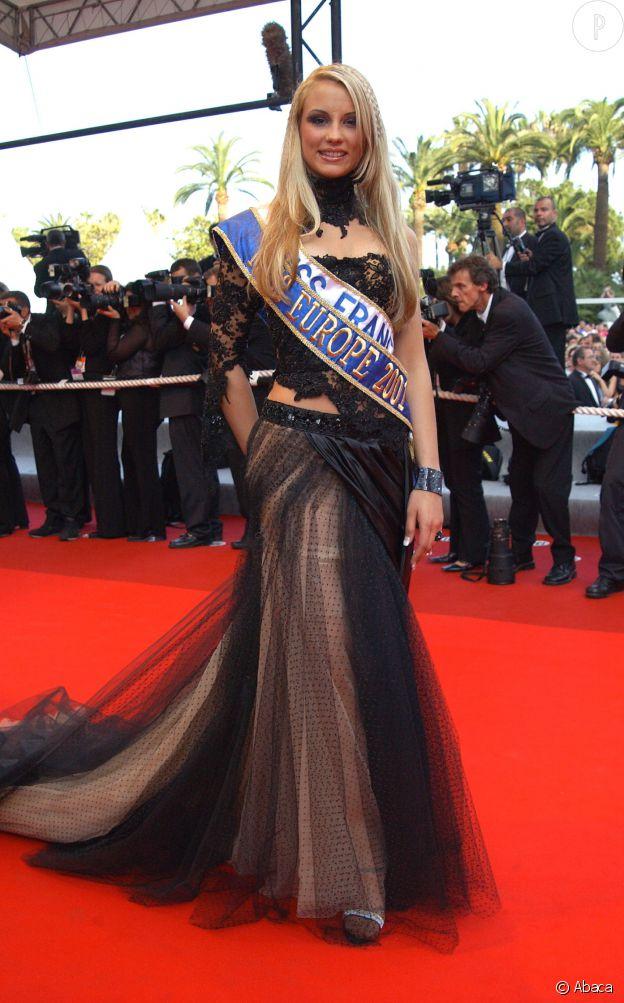 Après avoir été élue Miss France, Elodie Gossuin décroche le titre de Miss Europe.