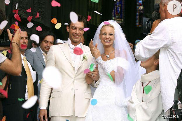 Le 1er juillet 2006, Elodie Gossuin et Bertrand Lacherie se marient à  Trosly,Breuil
