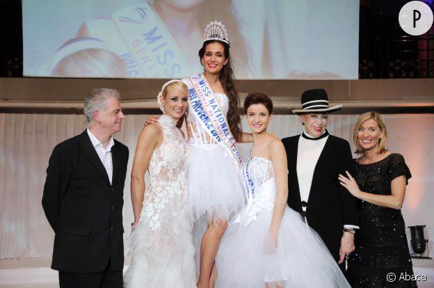 Très proche de Geneviève de Fontenay depuis son élection, Elodie Gossuin la suit dans l'aventure Miss Nationale.