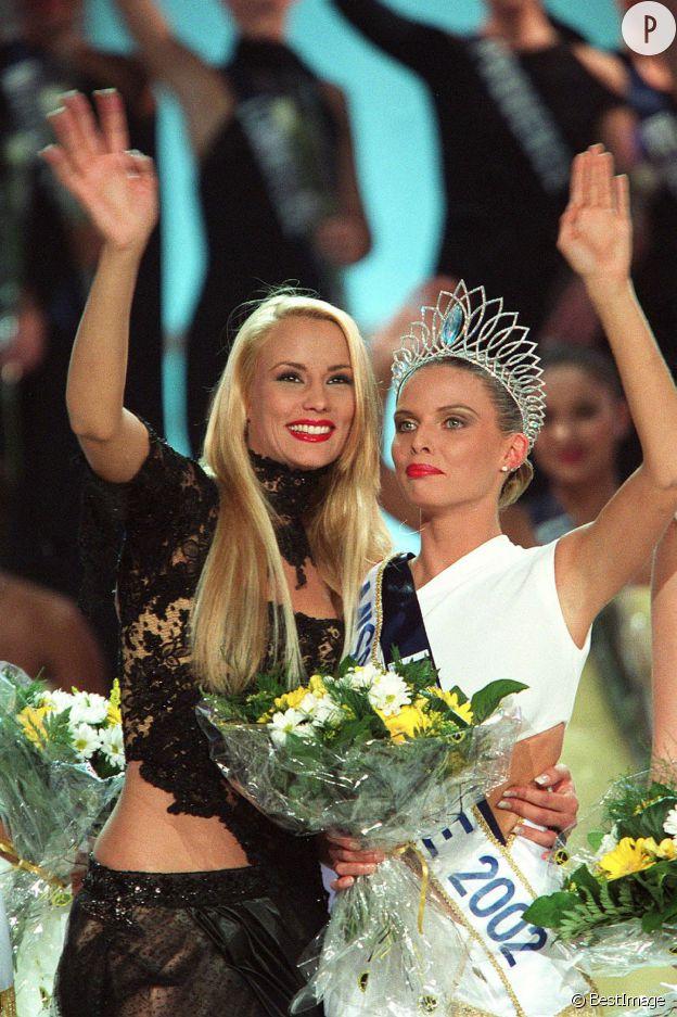 En 2002, Elodie Gossuin laisse sa place à Sylvie Tellier.