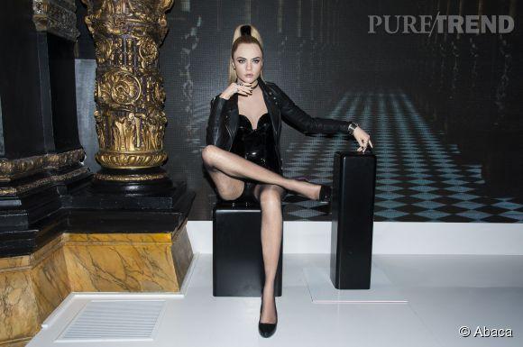 Cara Delevingne fait partie des nouvelles venues au Musée Grévin à Paris.