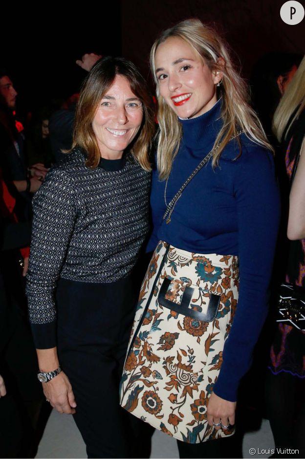 Alessandra Borghese et Elizabeth Von Thurn und Taxis à l'inauguration de la nouvelle boutique Louis Vuitton.