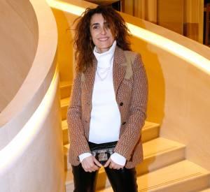 Mademoiselle Agnès à l'inauguration de la nouvelle boutique Louis Vuitton, ce lundi 15 décembre 2014.