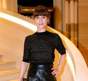 Marina Foïs à l'inauguration de la nouvelle boutique Louis Vuitton, ce lundi 15 décembre 2014.