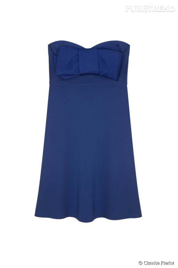 Robe Ravageuse de la collection Grand Soir de Claudie Pierlot, 171,50 euros.