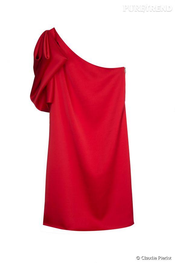 Robe Roze de la collection Grand Soir de Claudie Pierlot, 157,50 euros.