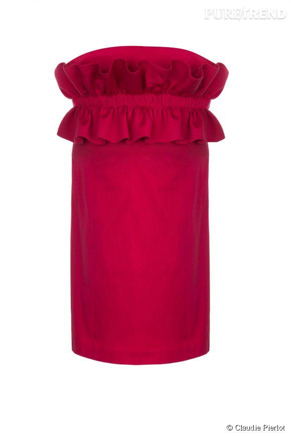 Robe Ruban de la collection Grand Soir de Claudie Pierlot, 171,50 euros.