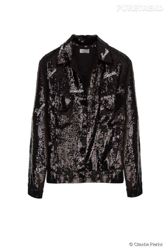 Blousin Vic de la collection Grand Soir de Claudie Pierlot, 241,50 euros.
