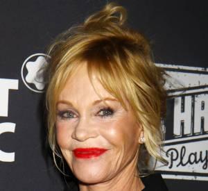 En novembre, le visage de Melanie Griffith paraissait moins figé.