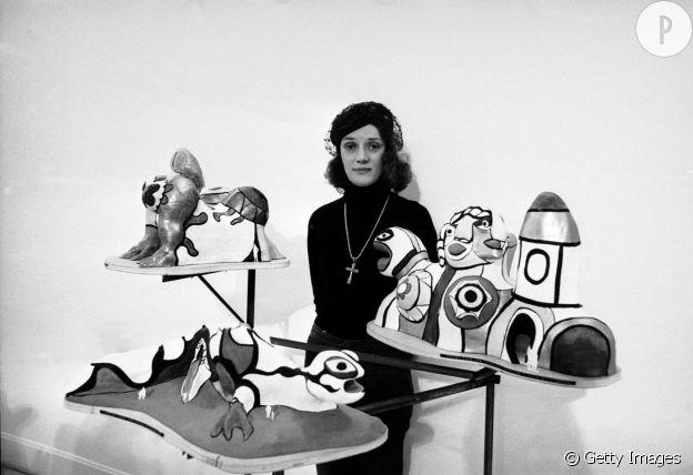 L'artiste Niki de Saint Phalle.