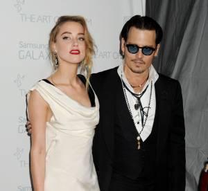 Johnny Depp et Amber Heard : sur le tapis rouge pour mettre fin aux rumeurs