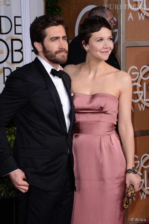 Jake Gyllenhaal a décidé de venir accompagné de sa soeur Maggie aux Golden Globes 2015 le 11 janvier.