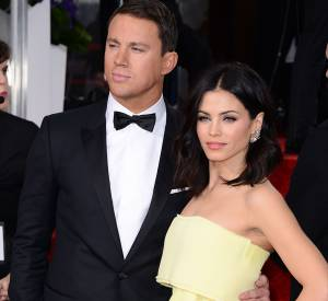 Channing et Jenna Tatum aux Golden Globes 2015 le 11 janvier.