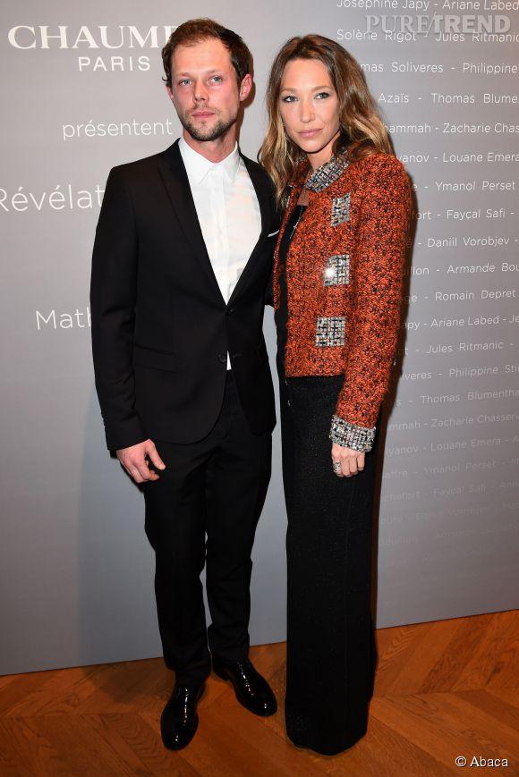 Laura Smet et Daniil Vorobjev au Dîner des Révélations 2015, hier soir.