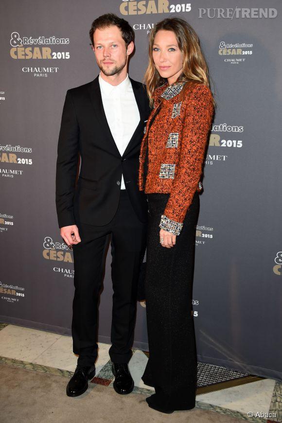 Laura Smet aux côtés de Daniil Vorobjev, éligible au César du Meilleur Espoir Masculin cette année.