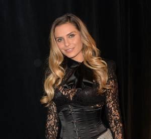 Clara Morgane : très sexy en dentelle noire et corset pour Mister France 2015