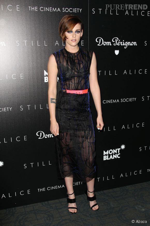 Kristen Stewart, toujours aussi audacieuse quand il s'agit de mode.