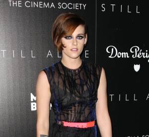 """Kristen Stewart : en robe transparente sur le tapis rouge pour """"Still Alice"""""""