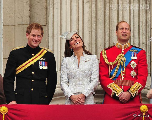 Kate Middleton, le prince William et le prince Harry font leur arrivée sur Twitter et Instagram.