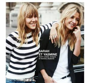Sarah Lavoine et Yasmine, le duo mère-fille de la campagne Printemps-Été 2015 Comptoir des Cotonniers.