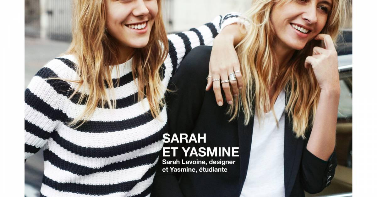 Sarah lavoine et yasmine le duo m re fille de la campagne - Comptoir des cotonniers mere et fille ...
