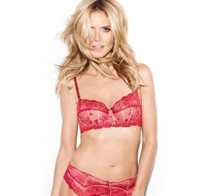 Heidi Klum en lingerie : les premières photos de sa ligne pour Bendon