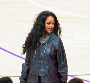 Rihanna se rhabille : une bombe en front row pour le match des Lakers
