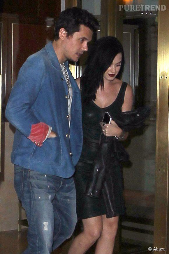 Katy Perry et John Mayer en 2013.