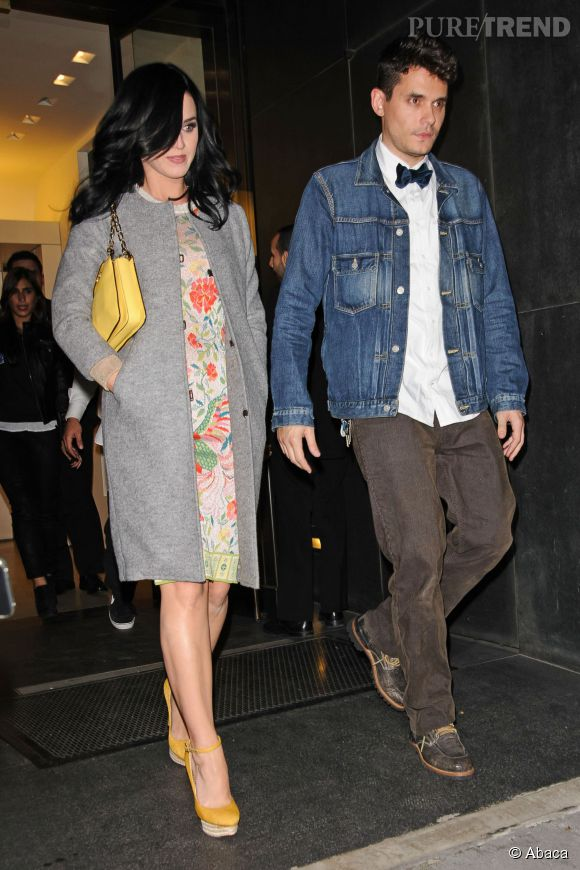Katy Perry et John Mayer très amoureux en 2013.