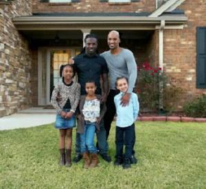 Kordale et Kaleb Lewis : le couple gay et leurs enfants ont charmé Nikon