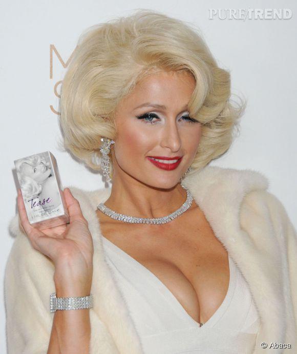 Paris Hilton, la bimbo fière d'être blonde, elle le clame sur Instagram.