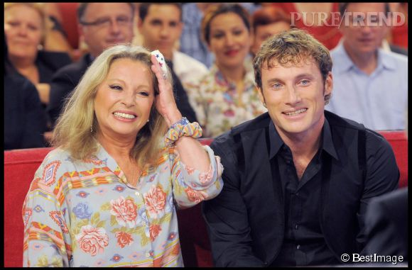V ronique sanson et son fils christ stills en 2009 chez michel drucker puretrend - Compagnon de veronique sanson ...