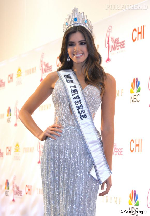 Miss Colombie, nouvelle Miss Univers 2014.