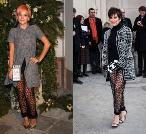 Lily Allen vs Kris Jenner : le pantalon transparent Chanel Resort 2015