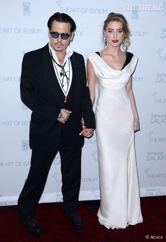 Johnny Depp et sa fiancée, Amber Heard, sont plus amoureux que jamais et c'est tant mieux, le mariage devrait se dérouler le week-end des 7 et 8 février 2015.