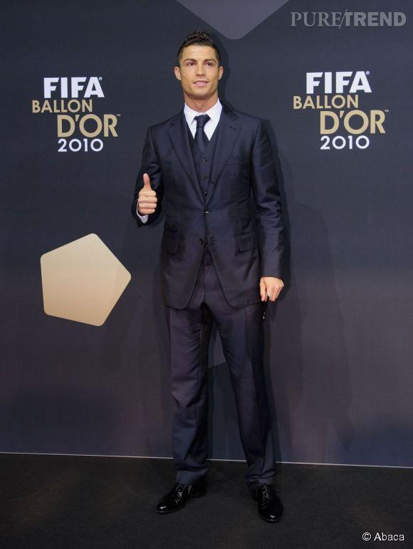 Ronaldo et son pouce de la victoire...
