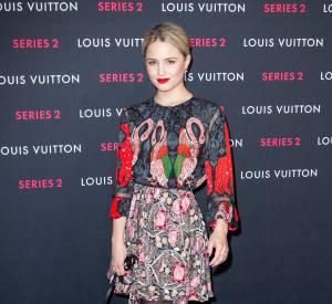 Dianna Agron lors du vernissage de l'exposition Série 2 présentée par Louis Vuiton à Los Angeles le 5 février 2015.