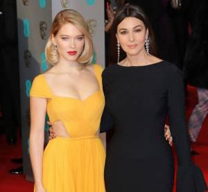 Léa Seydoux et Monica Bellucci, duo de charme aux BAFTA