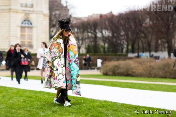 La célèbre audace vestimentaire d'Anna Dello Russo.
