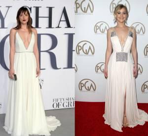 Dakota Johnson vs Jennifer Lawrence : l'allure de déesse viriginale