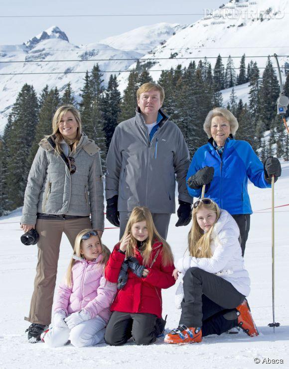 La famille royale des Pays-Bas au grand complet : Beatrix était de la partie.
