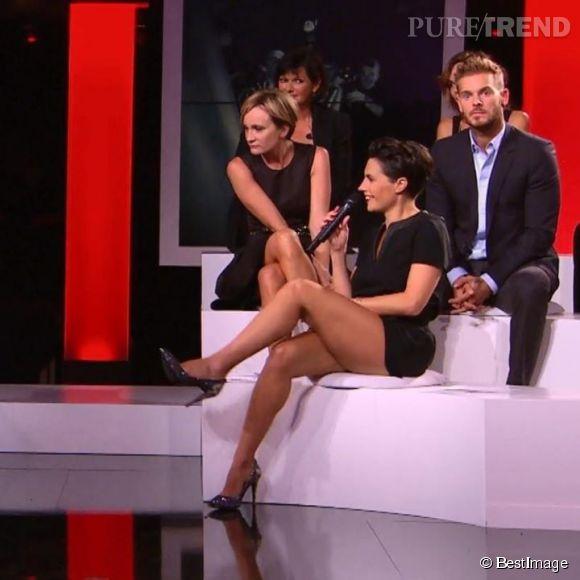 Alessandra Sublet, les gambettes les plus sexy du PAF.