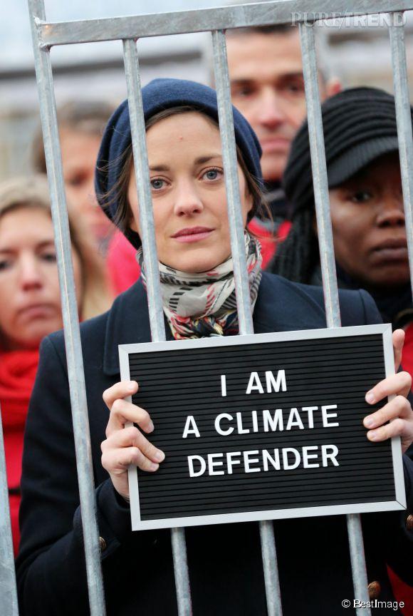 Marion Cotillard est militante aux côtés de Greenpeace depuis plusieurs années.