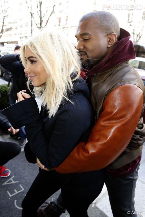 Kim Kardashian et Kanye West, de vrais chauds lapins.